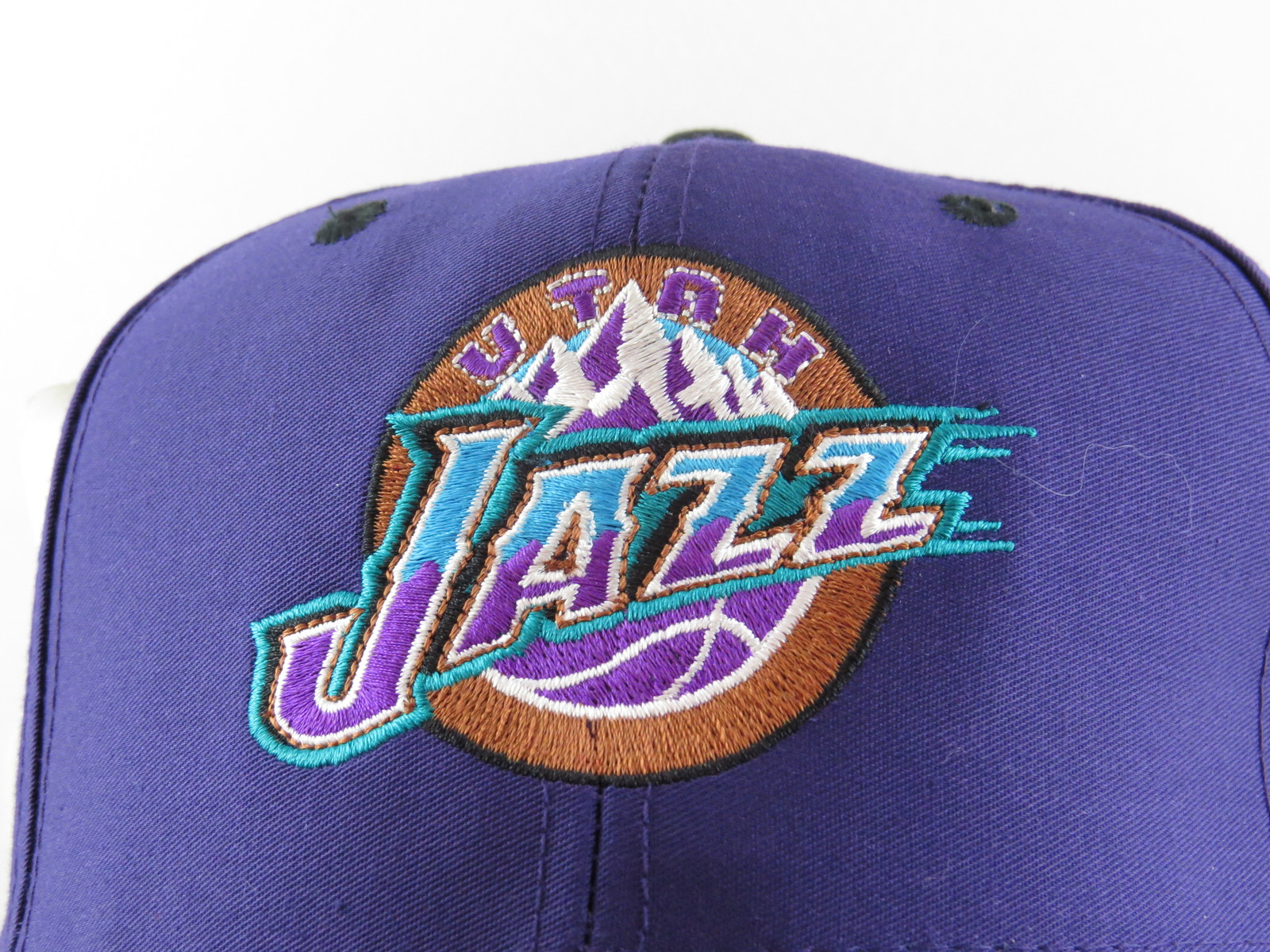 Utah Jazz Hat (VTG)  - 1990s Mountain Logo by Midway - Adult Snapback (NWT)
