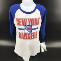 NHL New York Rangers Girls Shirt 3/4 Length Sleeves Size M (7/8) - NEW -i - $22.99