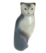Vintage 1984 Goebel West Germany Mid Century Modern Cat Figurine Ceramic... - $56.06