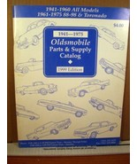 1941-1975 Oldsmobile Parts & Supply Catalog 1999 Edition - $8.99