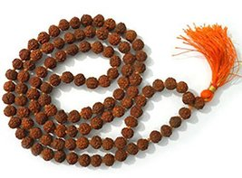 Ankita Gemstones 5 Face Rudraksha Mala,5 Mukhi Mala, Jaap Mala , 5Mm-6Mm... - $19.00