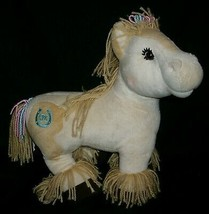 "12"" Cabbage Patch Kids 2005 Yellow & Creme Horse Stuffed Animal Plush Doll Toy - $22.44"