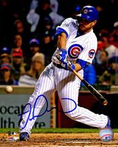 MIGUEL MONTERO Signed Chicago Cubs Swinging Action 8x10 Photo - SCHWARTZ - $53.46
