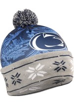 NCAA Penn State Nittany Lions Big Logo Light Up Printed Beanie Hat - $28.95