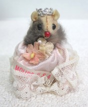 """Russ Miss Mouse w Tiara & Sash Pink Gown USA 2""""  MWT T23 - $28.22"""