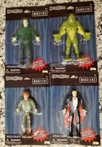 Universal Monsters Bendems Creature Black Lagoon Frankenstein Wolfman Dr... - $48.94