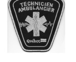 Ier technicien ambulancier certifie province de quebec  canada  4.5 x 4.25 in 9.99 thumb155 crop