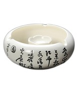 Ceramic Ashtray for Home Office Decoration Ash Holder for Smokers Chines... - $28.64