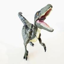 Jurassic World BLUE Raptor Growler Dinosaur Toy Hasbro Lights Sounds TES... - $14.95