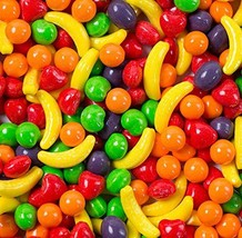 Wonka Assorted Flavored Runts Candy, Fruit, 3 Pound - $20.18