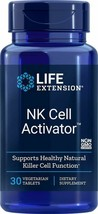NEW Life Extension NK Cell Activator Protects Immune System 30 Vegetarian Tabs - $33.55