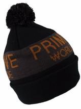Primitive Apparel Black Pom Beanie Hat NWT image 2