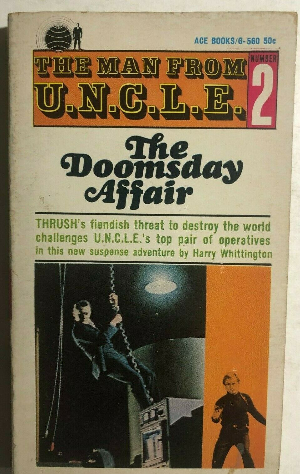 Primary image for THE MAN FROM UNCLE #2 The Doomsday Affair by Harry Whittington (1965) Ace TV pb