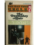 THE MAN FROM UNCLE #2 The Doomsday Affair by Harry Whittington (1965) Ac... - $9.89