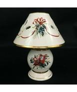 Lenox Winter Greetings Cardinal Mini Candle Lamp Shade & Candleholder 6.... - $16.74