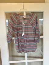 Ann Taylor Loft Top Loose Airy Shirt S Multicolor - $9.99