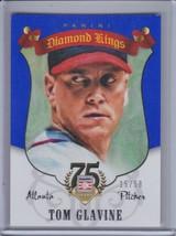 TOM GLAVINE 2014 Panini Hall of Fame Diamond Kings Blue #15/50 #98 (C5703) - $5.36