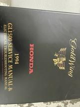 1994 Honda GoldWing GOLD WING GL1500 GL Servizio Negozio Repair Manuale ... - $89.05