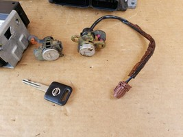 05 Nissan Xterra 4x2 ECU Computer Ignition Switch BCM Door Tailgate Key Locks image 2