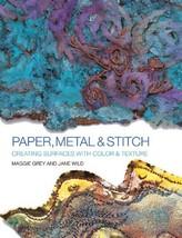 Paper, Metal & Stitch Grey, Maggie and Wild Jane - $9.75