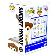 Funko Pop! Disney Pixar Toy Story 4 Sheriff Woody #522 Vinyl Action Figure image 3