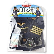 Pilot: Role Play Costume Set + 1 Melissa & Doug Scratch Art Mini-Pad Bundle (#08 - $39.35