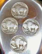 1913, 1915,  1916, and 1916 D Buffalo Nickel AA20BN-CN6074 image 2