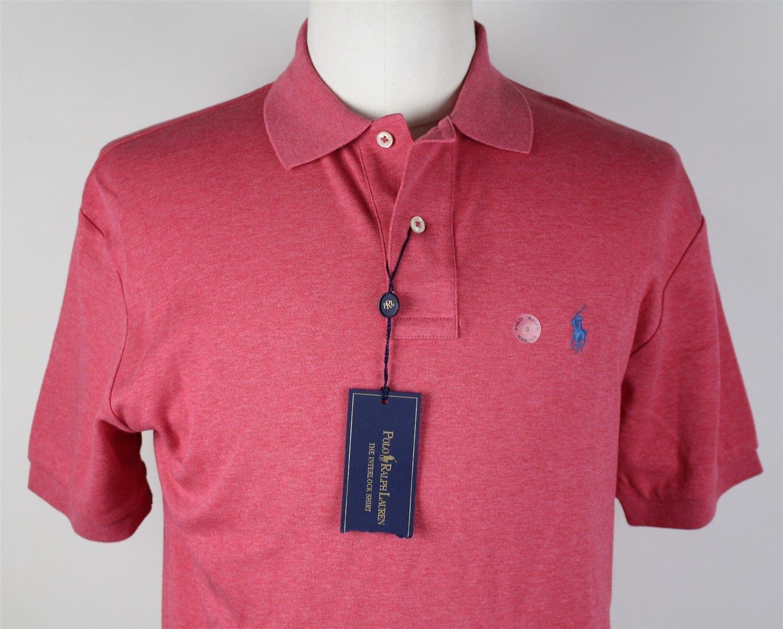 1820a04a8 NWT Polo Ralph Lauren Soft Touch Interlock Polo Shirt MENS SMALL ...