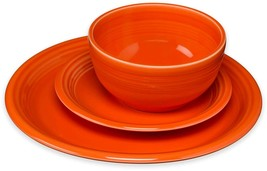 Fiesta 12 Piece  Bistro Dinnerware Dish Set Poppy - $148.50