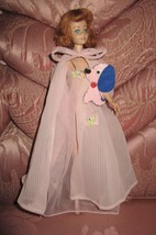 VTG BARBIE MIDGE DOLL in #965 NIGHTY NEGLIGEE TAGGED PINK ROBE NIGHTGOWN... - $52.99