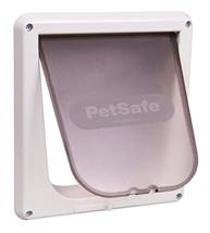 PetSafe Interior 4-Way Locking Cat Door, White - $18.64