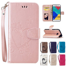 PU Leather Flip Wallet Stand Case Cover for Samsung A3 A5 A7 2017 A310 A510 - $7.99