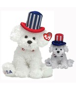 First Dog Retired Ty Beanie Baby and Buddy Set MWMT Collectible Ty Exclusive - $24.70
