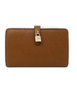 Michael Kors Adele Slim Bifold Leather Wallet with Lock Detail   - $79.00