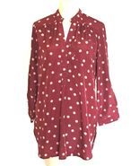 Fun 2 Fun Polka Dot Top Shirt Blouse Women's Size M - $15.00