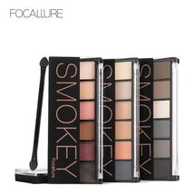 FOCALLURE 6 Colors Eyeshadow Palette Glamorous Smokey Eye Shadow Shimmer... - $5.88