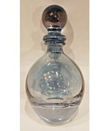Vintage Perfume bottle - Aqua blue, great for essential oils and more! - $12.19