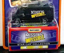 Mission Impossible Surveillance Van Matchbox Star Car Mip 1997 Diecast - $5.95