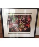 """LEROY NEIMAN hi - end """"International Roulette"""" titled SIGNED ARTWORK dou... - $1,817.13"""