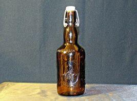 Brauer Bier Amber Brown Beer Bottle AA18 - 1155 Old Vintage image 3