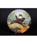 "Collector Plate, ""Pheasants In Flight"" Derek Braithwaite, Royal Grafton,... - $6.81"