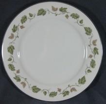 Noritake Vineyard 6449 Dinner Plates Brown & Green Leaves / Vine Platinum Rim - $9.99