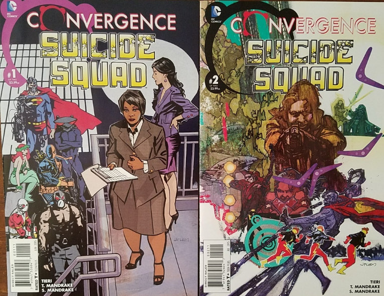 Primary image for DC Comics: Convergence - SUICIDE SQUAD Issue 1 & 2 of 2,  Fine