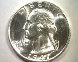1941-S WASHINGTON QUARTER NICE UNCIRCULATED NICE UNC. ORIGINAL COIN BOBS... - $49.00