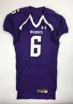 Under Armour Northwestern Wildcats Renegade Jersey Men's L Purple UF008JM - $24.74