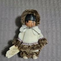 Precious Moments Children Of The World Sulu Alaska Doll 1994 New Enesco NWT - $18.99