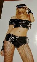Leg Avenue Halloween Costume 4pc vinyl biker babe outfit small rock n ro... - $19.80