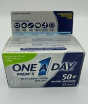 One A Day Men's 50+ Healthy Advantage Multi 65 tablets each 06/2020 - $14.80
