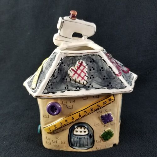 Blue Sky Clayworks Heather Goldminc Thrilling Threads Tealight House Retired