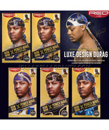 """Kiss Bow Wow Power Wave Luxe Design Pattern Men's Durag 40""""x3"""" Long Tail... - $4.99"""